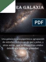 Nuestra galaxia.ppt