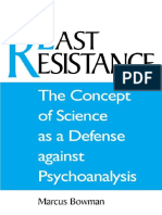 BOWMAN, M. The Concept of Science As a Defense Against Psychoanalysis.pdf