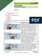 Bio Notes 14.2.2 Terrestrial Biomes