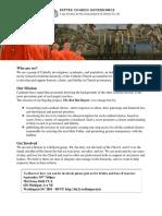 Better Church Governance flyer