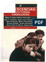 261311121 Adolescencias Trayectorias Turbulentas Maria Cristina Rother Hornstein PDF