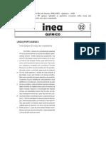 CESGRANRIO- INEA - RJ - Químico - Resolução Comentada