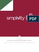 Whitepaper SimpliVity OmniStack Data Virtualization Platfform
