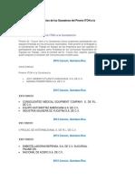 COMPILADO DE GANAORES DE PREMIO ITOH A LA CONSTANCIA
