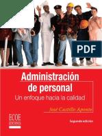 Administración de Personal 2da Edición