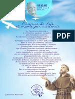 P. Dávila (Francisco de Asís, El Orante Por Excelencia)
