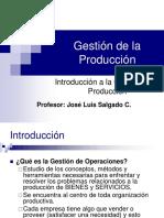 Clase 1 Introduccion Gestion de La Produccion