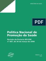 Politica Nacional Promocao Saude Pnaps