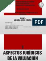 Aspectos Juridicos de La Valuacion