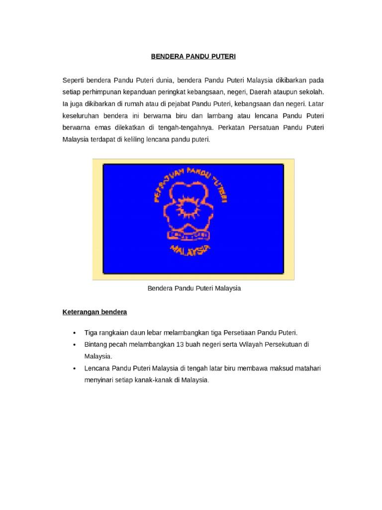 Bendera Pandu Puteri