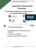 18 XX Diplomado - III Casos de Exito de Dirección de Proyectos Pag 413 Al 464