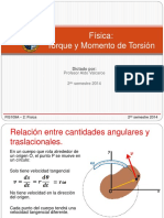 TORQUE Y MOMENTO DE TORSION