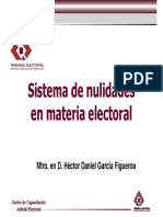 Sistema de Nulidades en Materia Electoral Mtro. Hector Daniel Garcia Figueroa