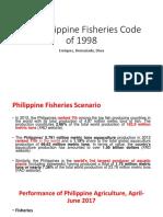 Philippine Fisheries Code