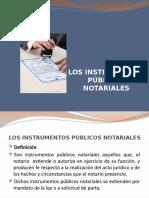 Intrumentos Publicos Notariales