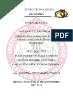 Diferentes tipos de transporte de la zona urbana de Mérida y su problemática.docx