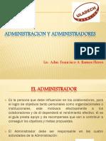 Administracion y Administradores