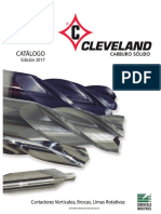 2017 Cleveland Herramientas de Carburo Sólido