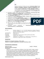 BO Sample Resume 1