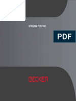 Manual Becker BE V2 FR