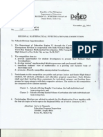 Mathematical Investigation Format (DEPED)