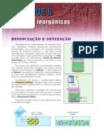 Aula 11 - Dissociação e Ionização e Ácidos, Bases e Sais