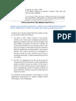 CESPE - DPE - CE - Defensor Público - Resolução Comentada