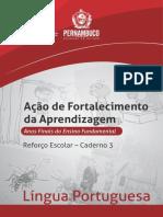 Caderno3Reforco Escolar Lingua Portuguesa EF