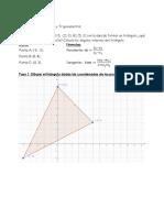 Problemas de Geometría y Trigonometría Resuelto