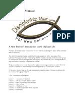 Discipleship Manual