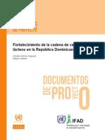 Gomes, Carolina e.a. Fortalecimiento de la cadena de valor de los lácteos en la República Dominicana