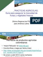 Buenas Practicas Agricolas y de Manufactura Para Asegurar La Inocuidad de Los Alimentos