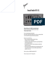 Nobels Sound Studio SST-1X