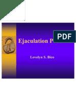 Ejaculation Problem