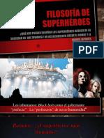 Superhéroes y Filosofía