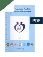 Buku Panduan Praktis Pelayanan KB.doc