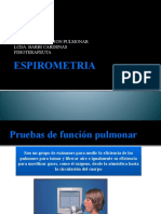 Esporometria Power Point