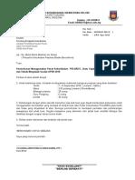 Surat Memohon menggunakan pusat latihan KO Pulares