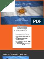 Argentina 1946 a 1990 (Felipe Gomez)
