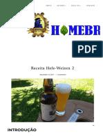 Receita Hefe-Weizen 2 _ Carbobiach Homebrew