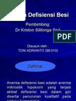 129280059 Anemia Defisiensi Besi Ppt
