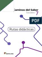 rutas pedagogicas grado 7
