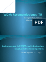 Presentacion WDM