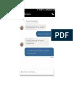 Uber Conversación