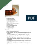 Berenjena a La Parmesana