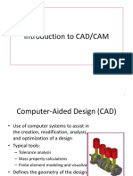Chapter 1 - Intro Cadcam