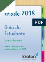 Guia Do Estudante Enade 2018 - EAD
