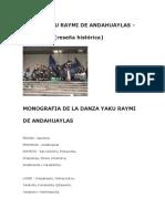 Danza Yaku Raymi de Andahuaylas