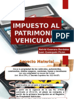 impuesto al patrimonio vehicular.ppt