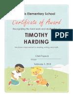 certificate award-output